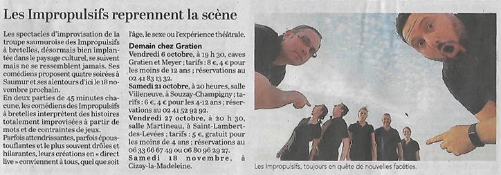 Courrier 5 octobre